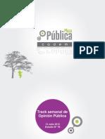 Plaza pública cadem N°78