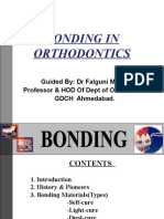 Bonding in Orthodontics .,