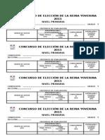 Concurso de Elección de La Reina Yoverina 2015