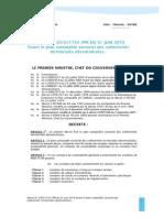 D├®cret 20101734PM du 01 juin 2010 fixant plan cptable sectoriel des coll ter dec
