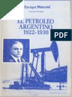 El Petróleo Argentino - Enrique Mosconi