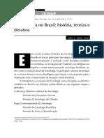 A Sociologia No Brasil História