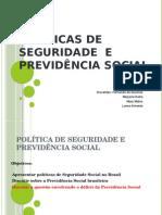 Políticas de Seguridade e Previdência Social (2)[1]