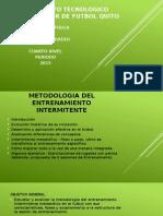 Metodologia Del Entrenamiento Intermitente