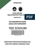 PembahasanPEMBAHASAN PREDIKSI TKD SOSHUM 2015.pdf Prediksi Tkd Soshum 2015