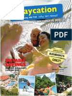 Saint Lucia Staycation Brochure 2015 (Official)