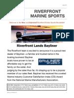 Riverfront Marine's July Newsletter