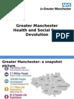 GM Health Social Care Devolution Standard Slides July 2015 FINAL