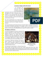Impressionism and Expressionism Art