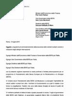 lettera dei parlamentari italiani M5S all'EBRD