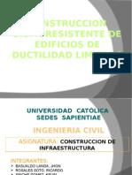 Exp. Consntrocion de Infraestructuras