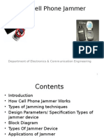 Cellphone Jammer Ppt