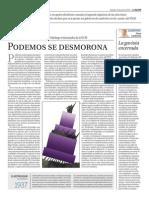 Podemos se desmorona (La Razón, 10.07.2015)