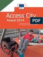 Access City Award 2014 Brochure En