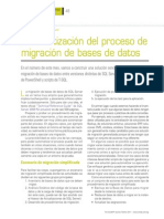 Automatizacion Del Proceso de Migracion de Bases de Datos