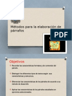 Clase Magistral Español General (El Parrafo)