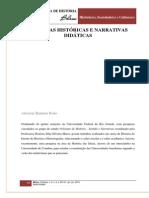 CULTURAS HISTÓRICAS E NARRATIVAS DIDÁTICAS