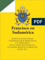 Francisco en Sudamerica 2015