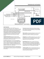 Tmp3200-Tmc420 Data Sheet