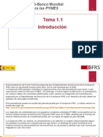 Pyme 1.1 Workshop Outline and Overview of IFRS for SMEsTRADUCCIONyrt-2 (1)