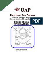 Memoria Descriptiva de Diseño de Vivienda de Madera 2