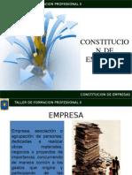 Constitucion de Empresas.