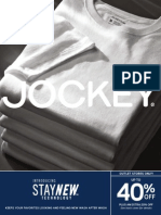 Jockey Outlet Stores July 2015