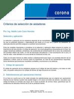 Criterios de Seleccion de Aisladores Boletin48