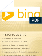 Presentecion Bing