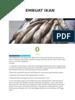 Cara Membuat Ikan Kering