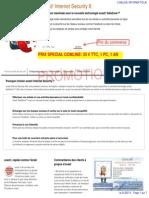 Avast Internet Security Antivirus Et Anti Espion Avec Pare Feu Offre Promotionnelle Comline