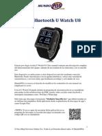 Manual Reloj Bluetooth U Watch U8