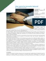 Aclaran Reglas Para La Jornada Laboral, Asesor, 09 Ene 2012