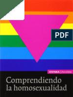COMPRENDIENDO LA HOMOSEXUALIDAD. Jokin de Irala Estevez