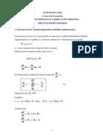 Funciones Implicitas  de Derivadas