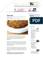 Potato Rösti - CSMonitor.com