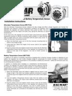 Balmar - Temperature Sensor Manual
