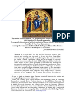 Byzantine Iconography of the Nativity of the Virgin Mary in the Light of a Homily of St. John Damascene