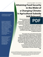 Food Security & Climate Change in Indonesia