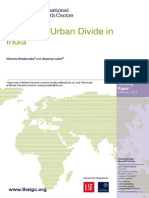 The Rural-Urban Divide in India (March 2012 Report)