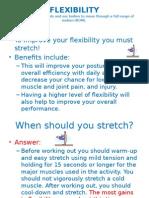 Flexibility study guide