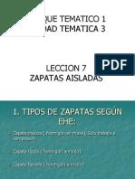 LECCION N 07 - Zapatas Aisladas