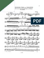 Paganini Variazioni Paisello