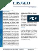 Reporte Semanal (13 de Julio 2015)