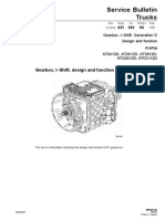 Gearbox, I–Shift, Generation D Design and Function