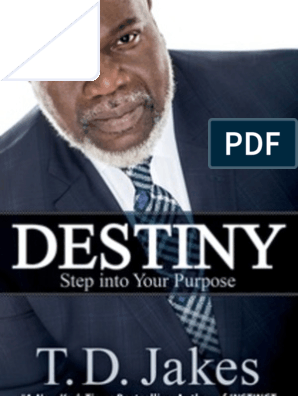 Destiny by T D  Jakes | Moses | Mind