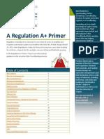 Report on Regulation A+ Primer