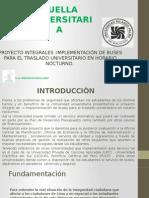Proyecto Buses e inseguridad a los alrededores de la URP.