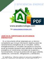 Certificado de Eficiencia Energetica