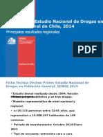 SENDA - consumo de drogas en Chile 2014